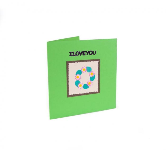 کارت پستال دست ساز شومر کد CP1024
