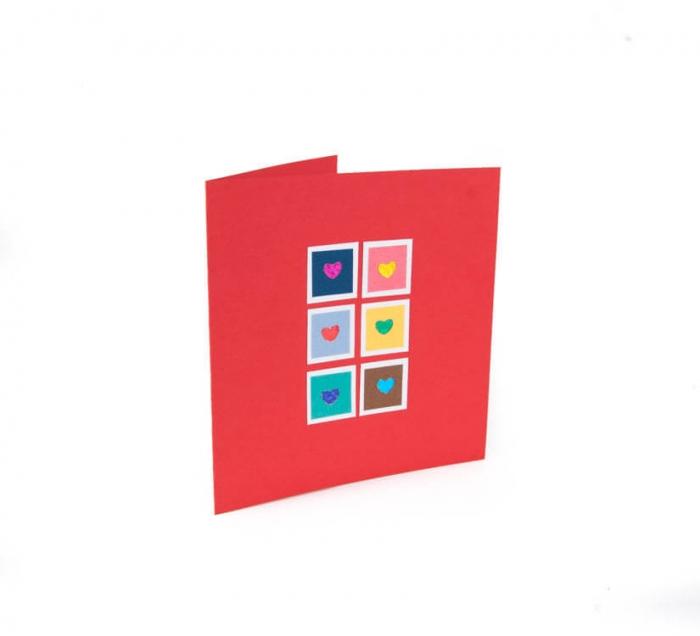 کارت پستال دست ساز شومر کد CP1025
