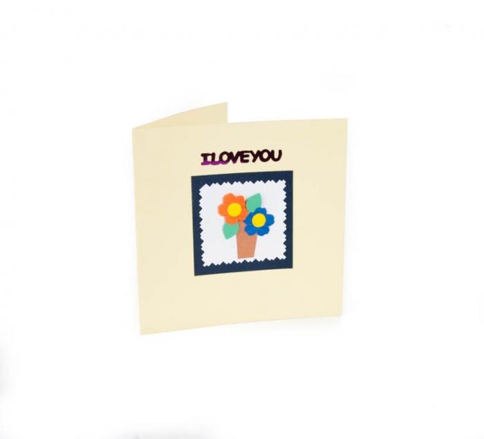 کارت پستال دست ساز شومر کد CP1026