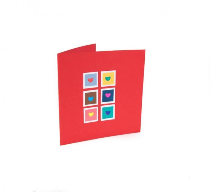 کارت پستال دست ساز شومر کد CP1027