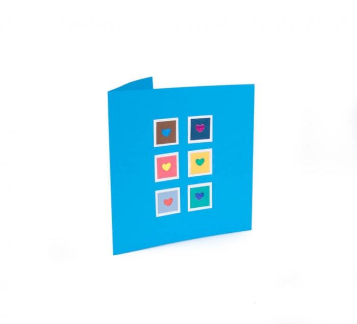 کارت پستال دست ساز شومر کد CP1050