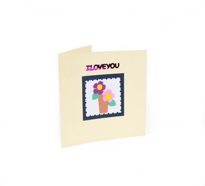 کارت پستال دست ساز شومر کد CP1039