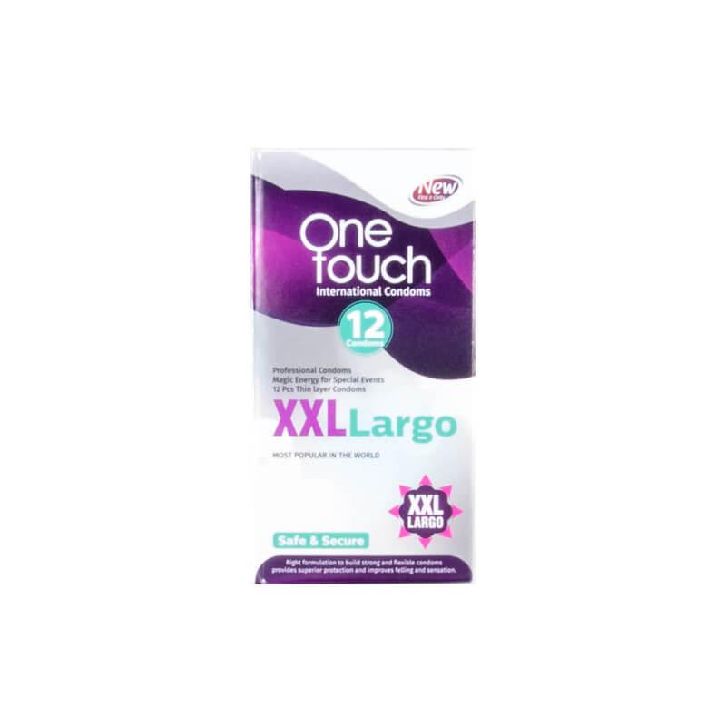 کاندوم وان تاچ مدل XXLlargo بسته 12 عددی
