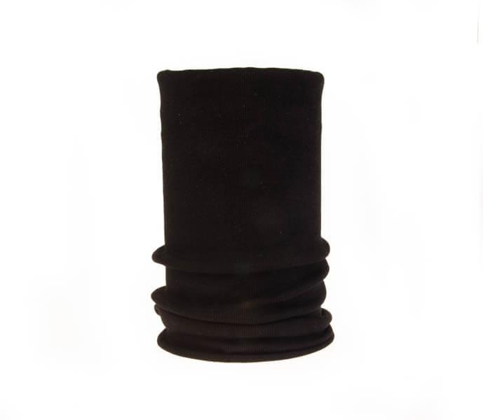 اسکارف ساده مشکی رنگ کد SS 1104