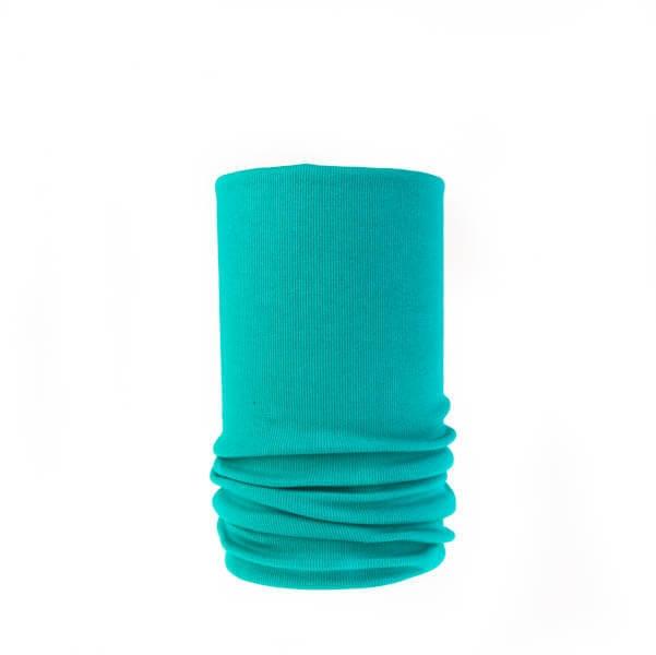 اسکارف ساده آبی رنگ کد SS 1106