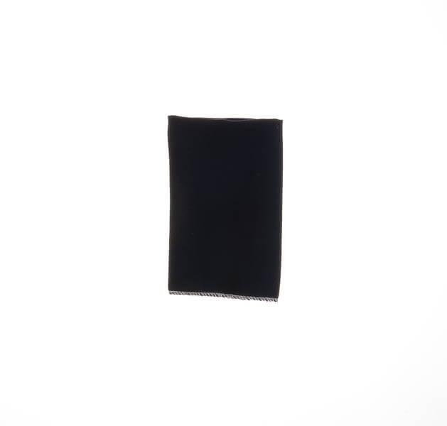 دستمال جیب ساده مشکی PSH1086