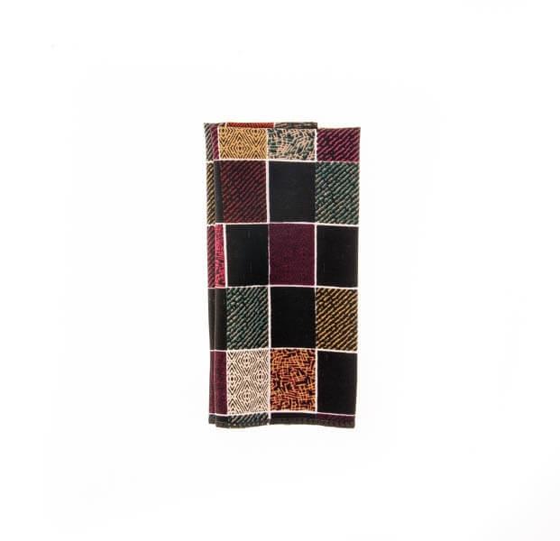 دستمال جیب طرح دار رنگارنگ PSH1082