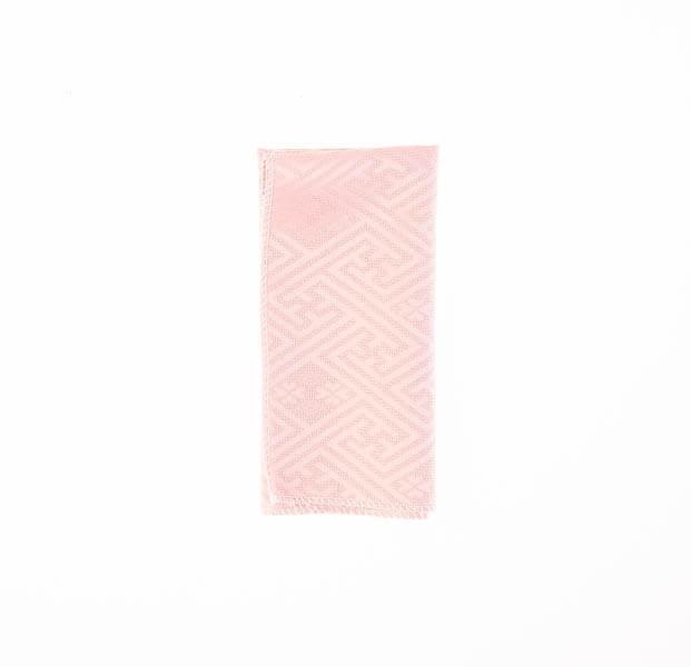 دستمال جیب طرح دار صورتی PSH1088