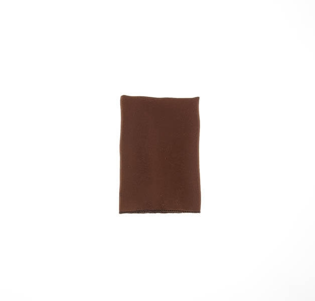 دستمال جیب ساده قهوه ای PSH1072