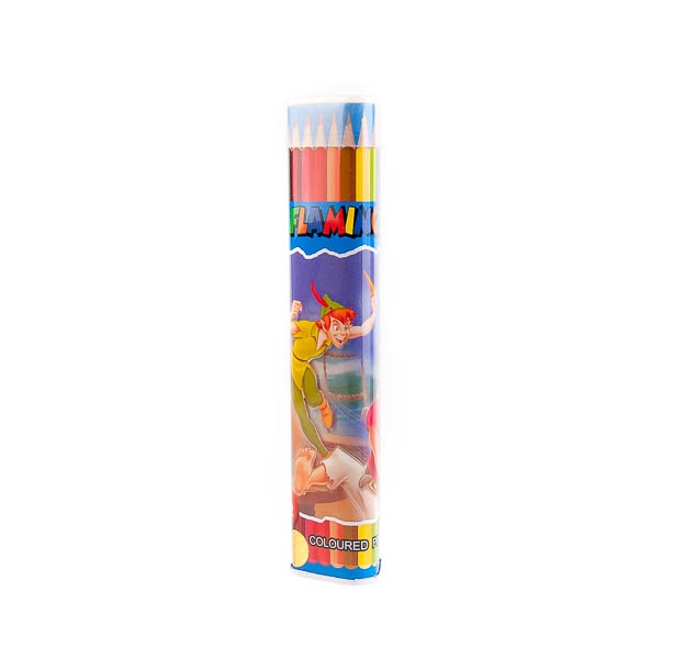 مداد رنگی 12 رنگ flomingo کد stcp1001