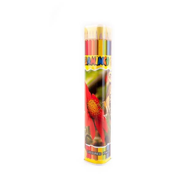 مداد رنگی 12 رنگ flomingo کد stcp1002