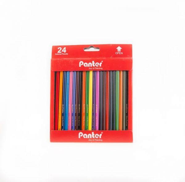 مداد رنگی 24 رنگ panter کد stcp1005