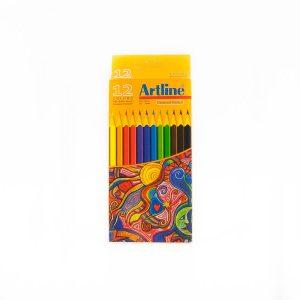 مداد رنگی 12 رنگ artline کد stcp1007