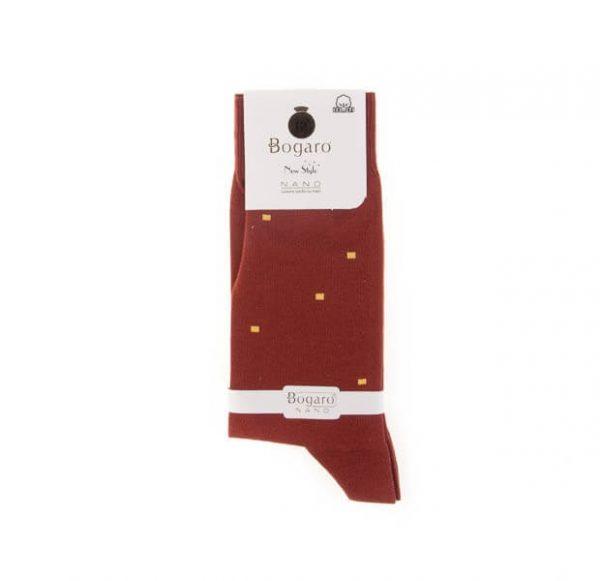 جوراب مردانه طرح دار bogaro کد SMS1037