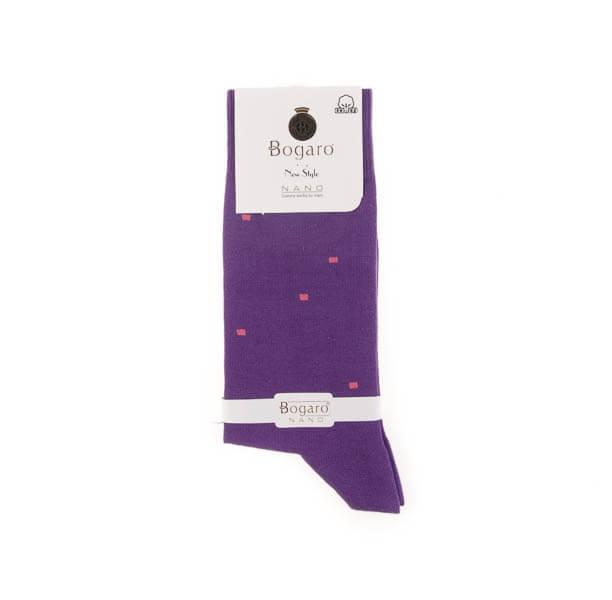 جوراب مردانه طرح دار bogaro کد SMS1041