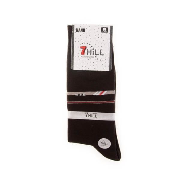 جوراب مردانه طرح دار 7HILL کد SMS1045