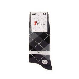 جوراب مردانه طرح دار 7HILL کد SMS1050