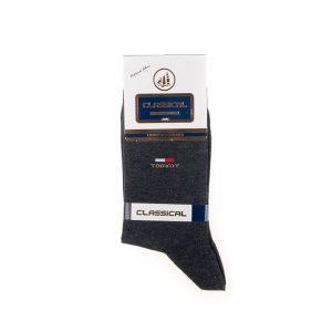 جوراب مردانه ساده classical کد SMS1067