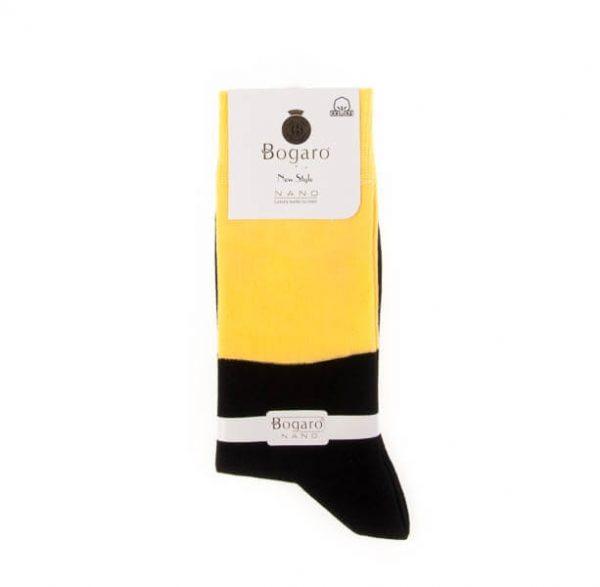 جوراب مردانه طرح دار bogaro کد SMS1063