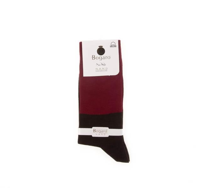 جوراب مردانه طرح دار bogaro کد SMS1061