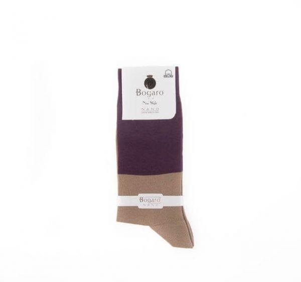 جوراب مردانه طرح دار bogaro کد SMS1057