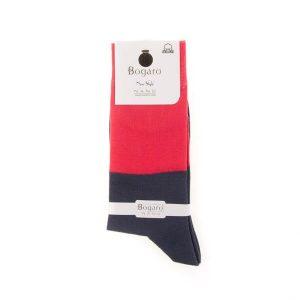 جوراب مردانه طرح دار bogaro کد SMS1054