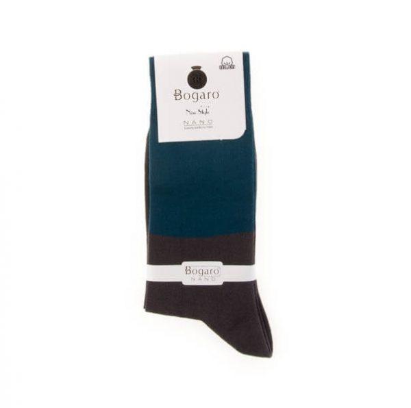 جوراب مردانه طرح دار bogaro کد SMS1055