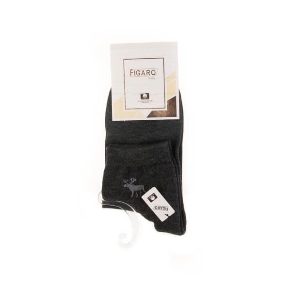 جوراب مردانه ساده فیگارو کد SMS1001