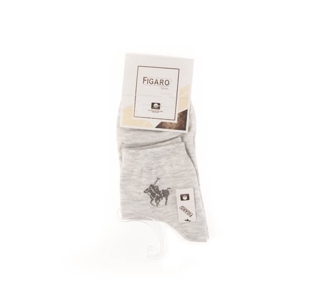 جوراب مردانه ساده کد فیگارو SMS1007