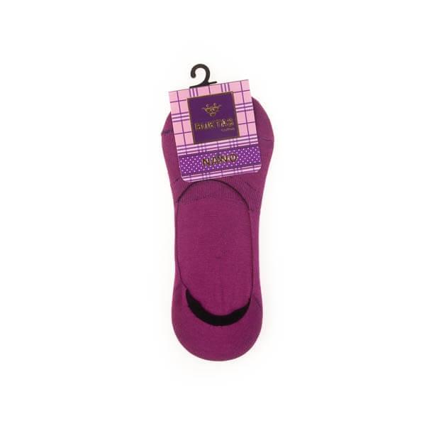 جوراب کفی زنانه ساده ژله ای بوکتاش کد sw1049