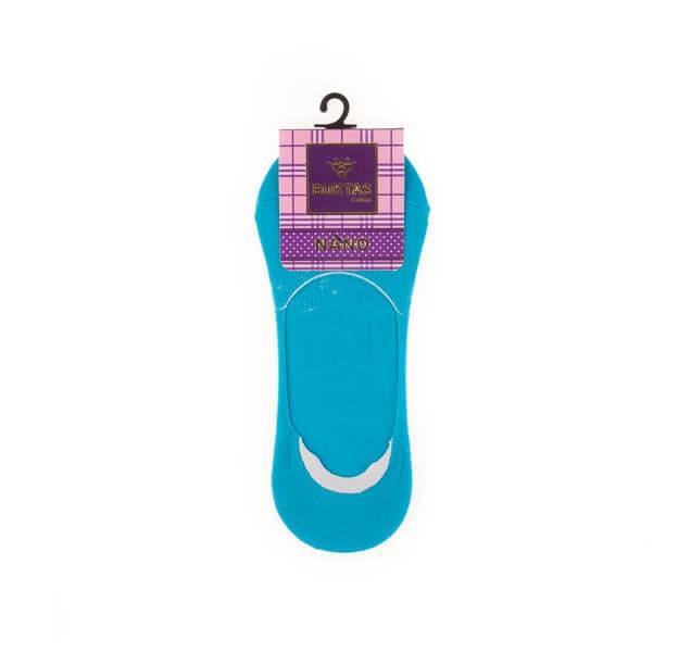 جوراب کفی زنانه ساده ژله ای بوکتاش کد sw1053