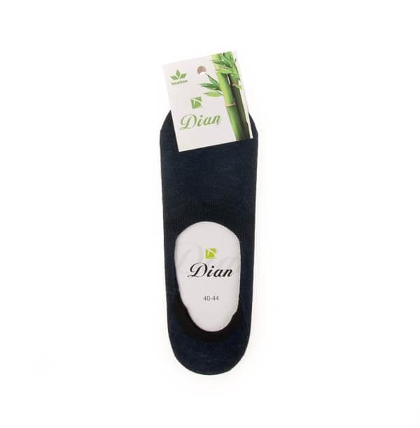 جوراب مردانه ژله ای ساده دیان کد SMS1011