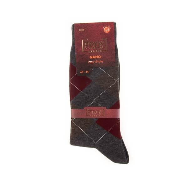 جوراب مردانه طرح دار pro کد SMS1025