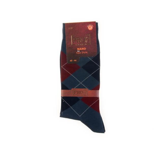 جوراب مردانه طرح دار pro کد SMS1026