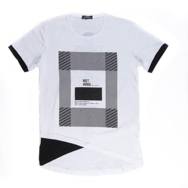 تی شرت مردانه طرح دار مد مکست madmext کد TS1058