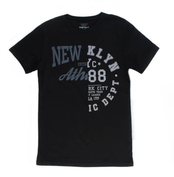 تی شرت مردانه طرح دار کوتون COTON کد TS1068