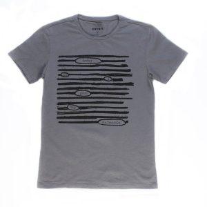 تی شرت مردانه طرح دار COTON کد TS1070