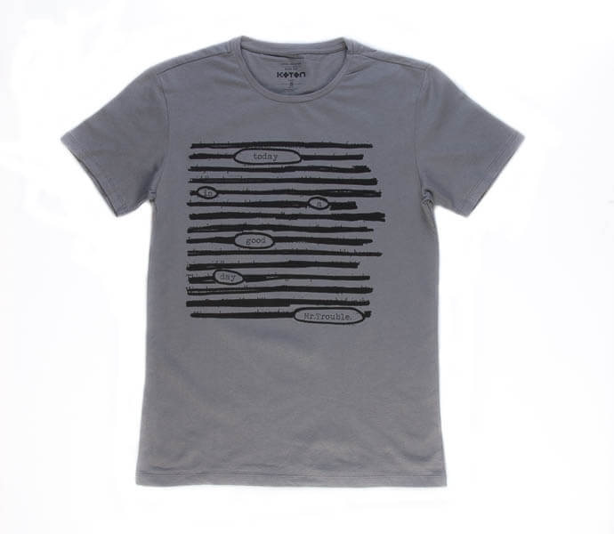 تی شرت مردانه طرح دار کوتون COTON کد TS1070