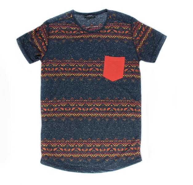 تی شرت مردانه مد مکست طرح دار madmext کد TS1062