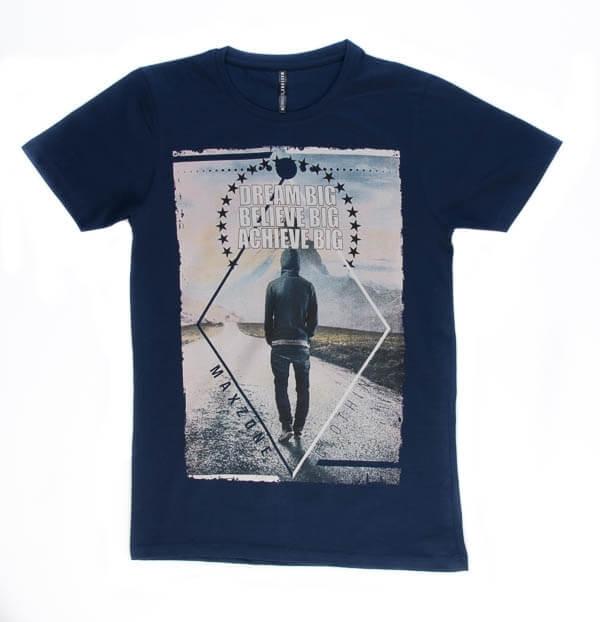 تی شرت مردانه طرح دار مکس زون maxzone کد TS1058