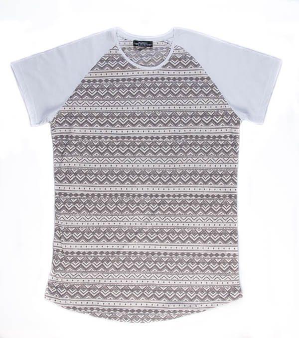 تی شرت مردانه طرح دار madmext کد TS1063