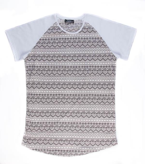 تی شرت مردانه مد مکست طرح دار madmext کد TS1063