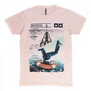 تی شرت مردانه طرح دار maxzone کد TS1062