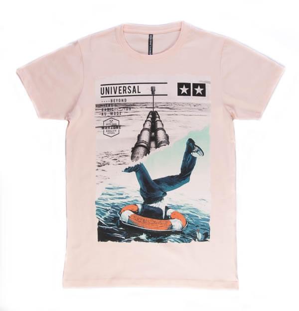 تی شرت مردانه طرح دار مکس زون maxzone کد TS1062