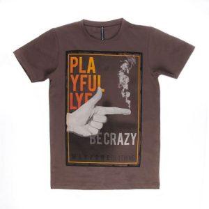 تی شرت مردانه طرح دار maxzone کد TS1061