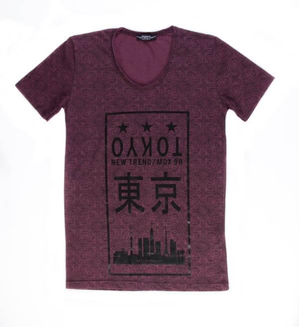 تی شرت مردانه طرح دار مد مکست madmext کد TS1067
