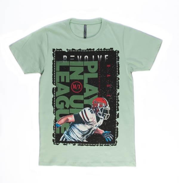 تی شرت مردانه طرح دار مکس زون maxzone کد TS1065