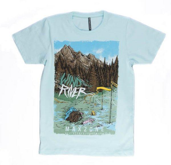تی شرت مردانه طرح دار مکس زون کد 1112