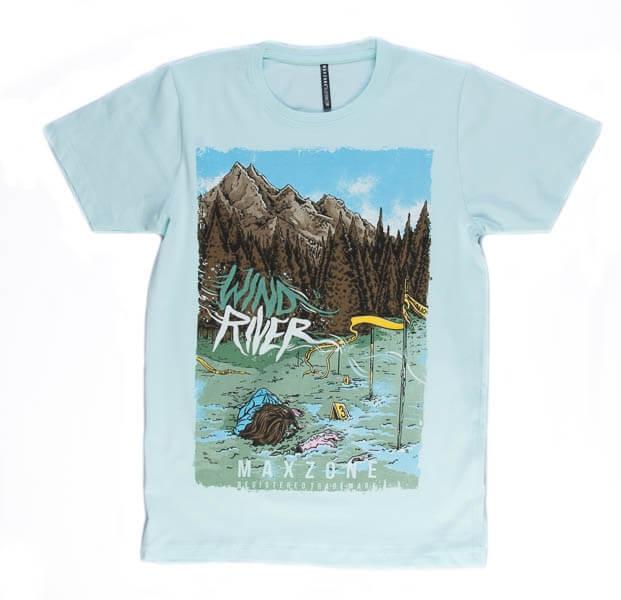 تی شرت مردانه طرح دار مکس زون maxzone کد TS1066