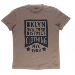 تی شرت مردانه طرح دار COTON کد TS1071